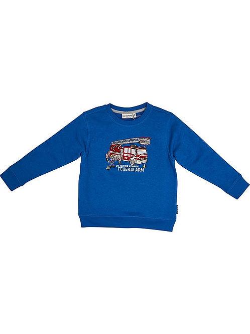 Salt and Pepper Pullover Sweatshirt Feuerwehr