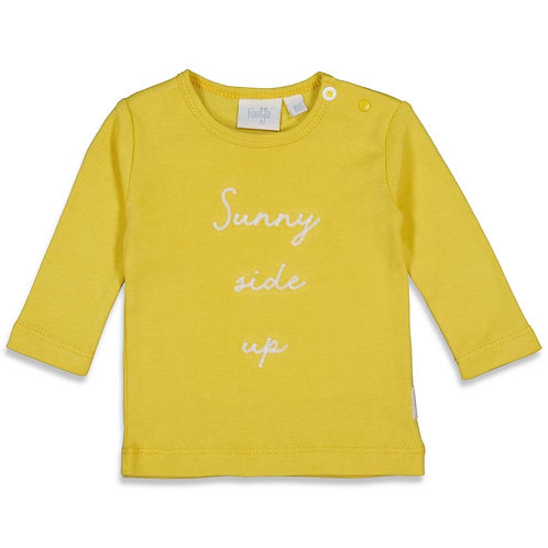 Feetje Shirt gelb Unisex Sunny Mood