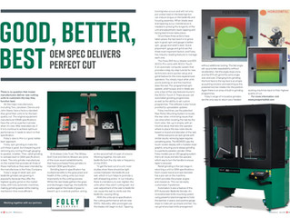 Good, Better, Best - OEM Spec Delivers Perfect Cut