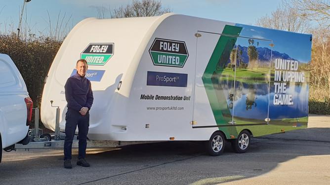 New For 2019 - Foley Mobile Demonstration Unit