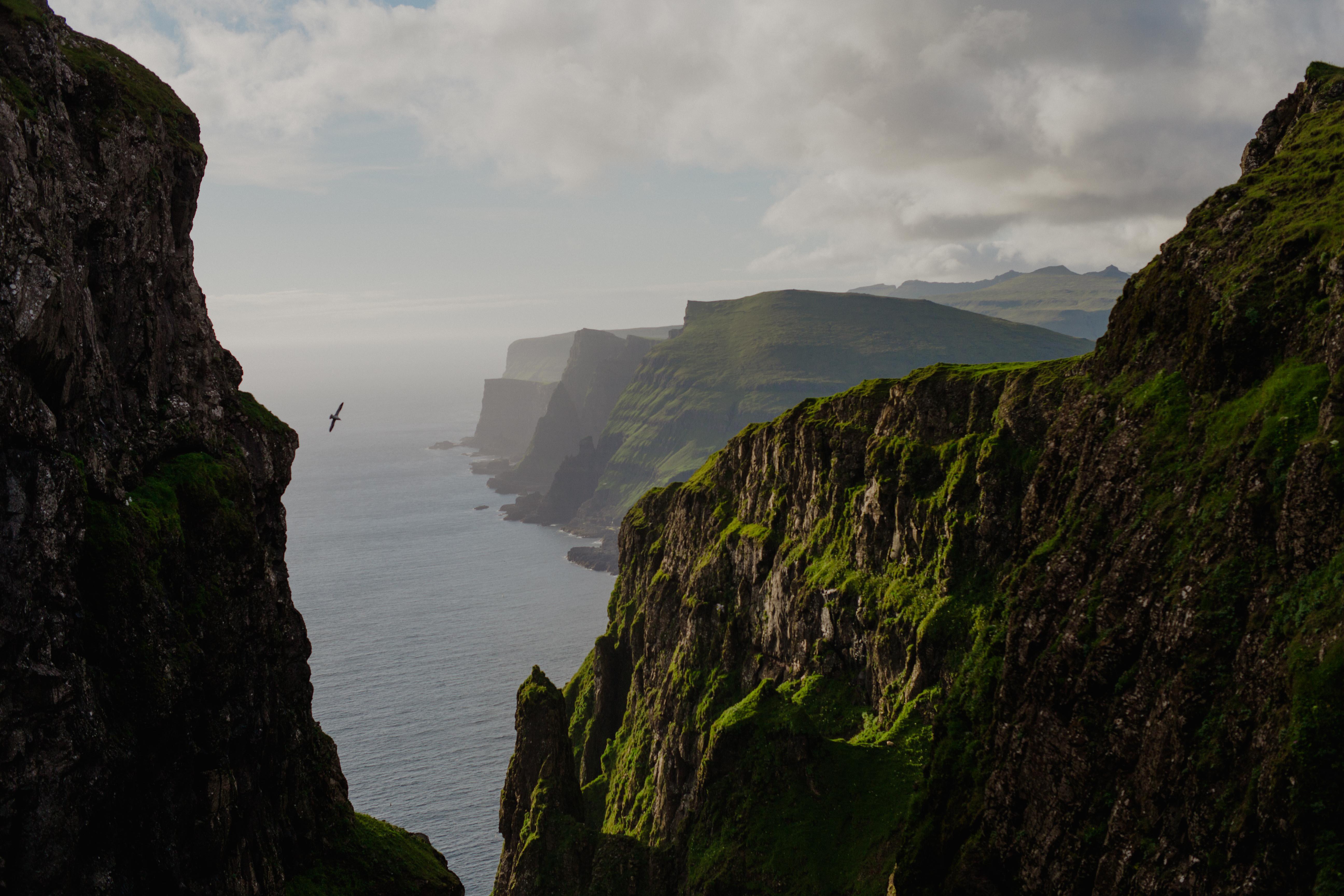 The climb / Faroe Islands
