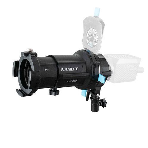 Проекционная насадка Nanlite PJ-FZ60 Spotlight36 градусов с гобо