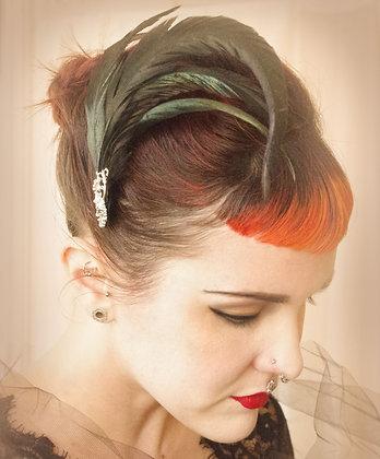 Coque Tail Hour hair fascinator