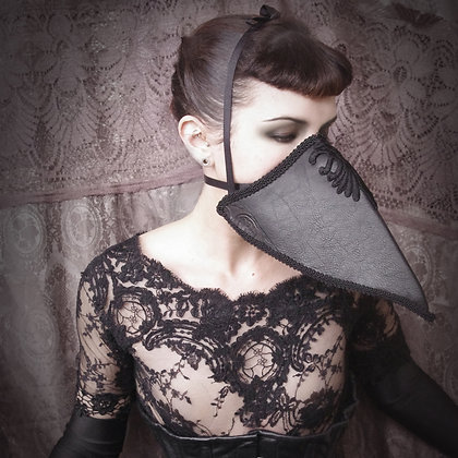 Dark Opulent Plague Doctor Mask
