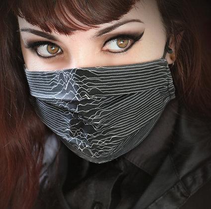 Joy Division Unknown Pleasures Cotton Face Mask