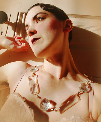 Crystal and Swarovski Necklace