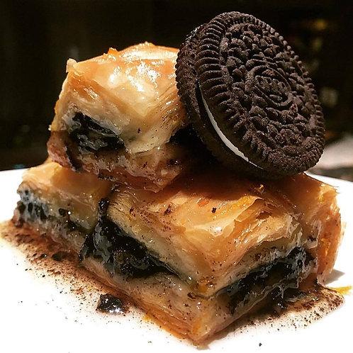 12 pieces of Oreo Cookie Baklava