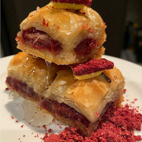 12 pieces of Red Velvet Oreo Baklava NEW
