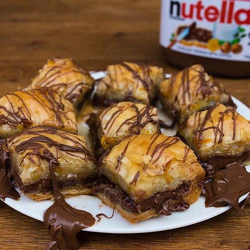 12 pieces of Nutella Baklava