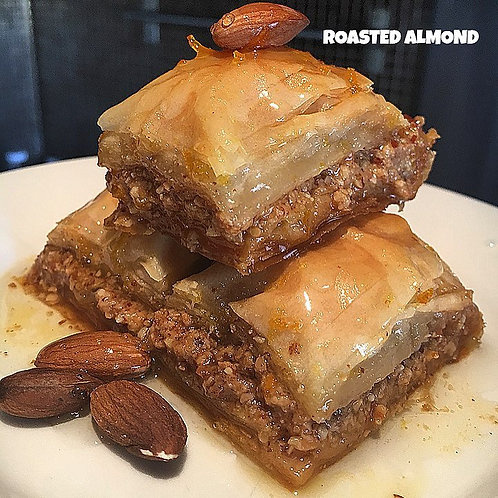 12 pieces Roasted Almond Baklava VEGAN
