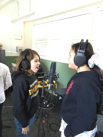 Recording at