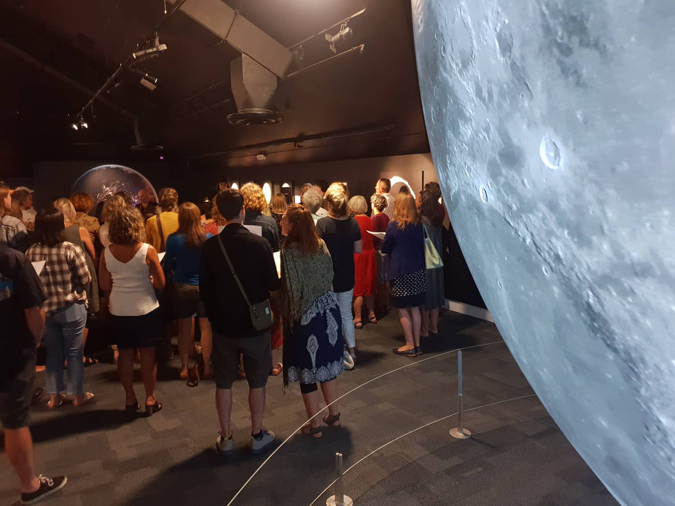 VC at the Moon Exhibition
