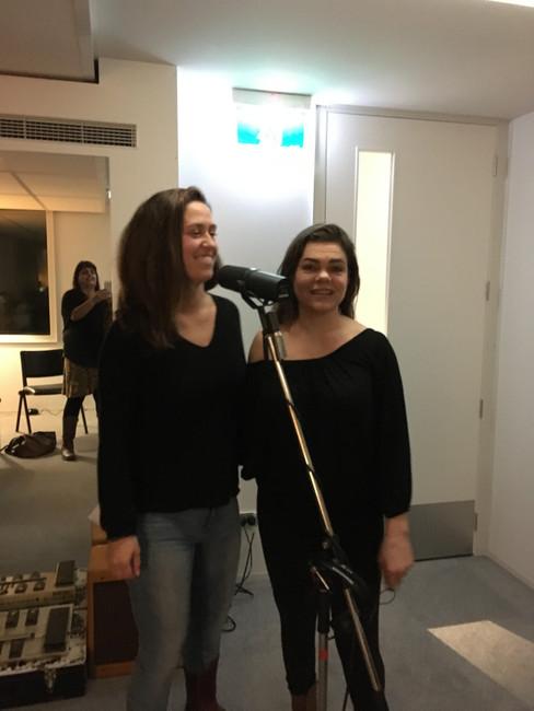 Recording at NCS