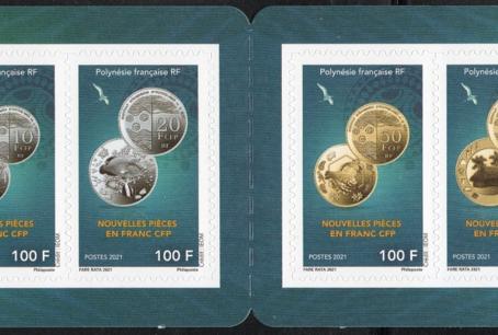 Les nouvelles pièces de Polynésie