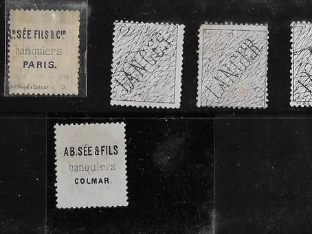 Précurseur des  publicités sur timbres français