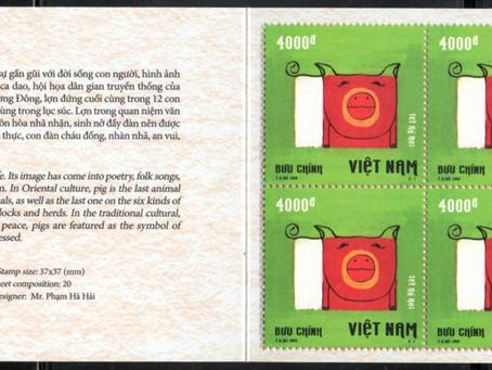 Salve de carnets au Viet Nam