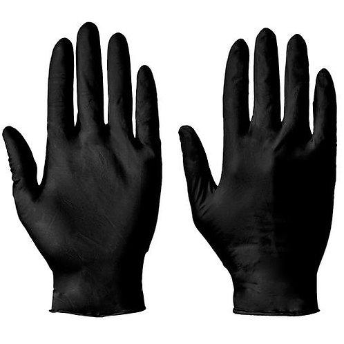 Black Nitrile disposable gloves - 100 pack