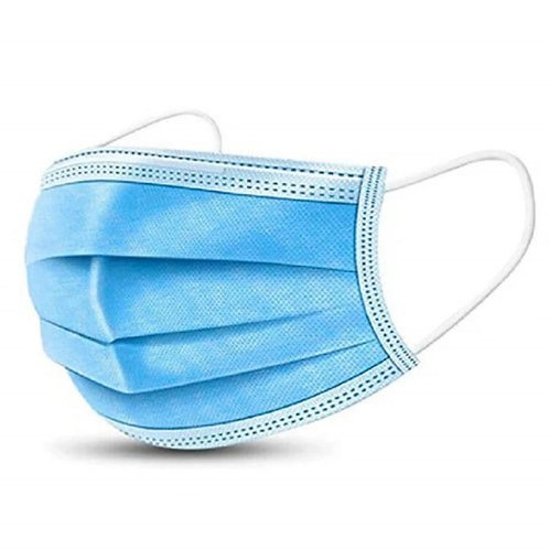 Face Mask, 3ply disposable - 50 pack
