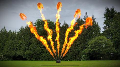 Luminous Custom Flame Systems