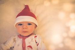 The cutest Santa's Little Helper ever!