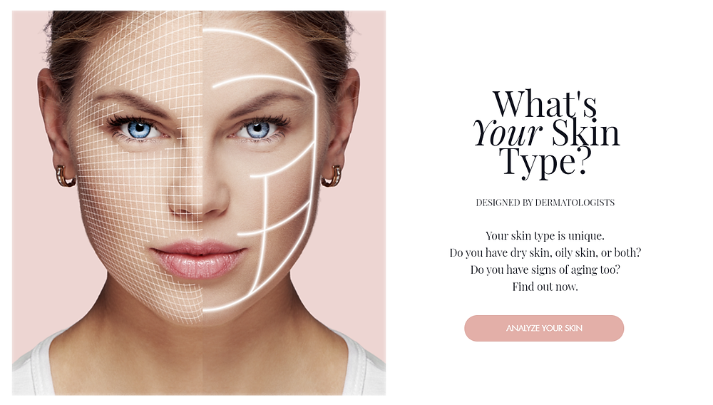 Skintelligence quiz | Find my skin type | Smart Skin Analysis