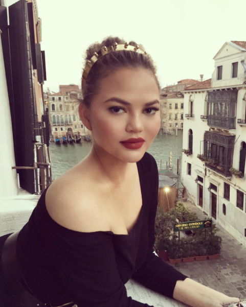 "When I travel is when I take the best care of my skin…"" – Chrissy Teigen 