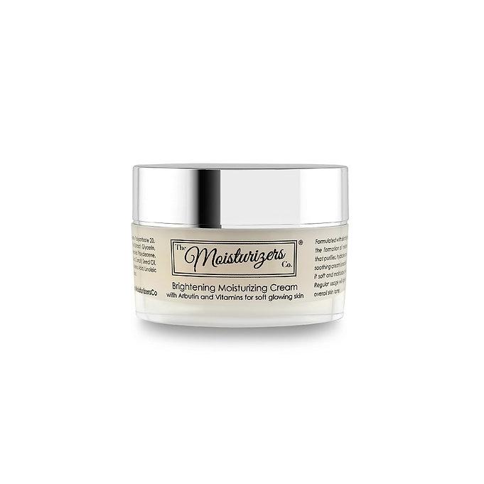 The Moisturizers Co. Brightening Moisturizing Cream with Arbutin to remove pigmentation, dark spots, sun spots.