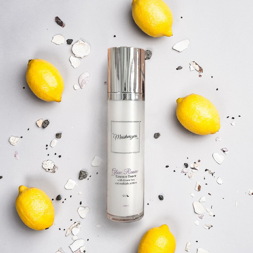 The Moisturizers Co. Glow Renew Essence Toner with Green Tea and Niacinamide