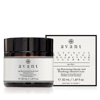 Avant Skincare Age Retexturing Glycolic Acid Mask-in-Cream