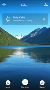 Calm app | Blog | The Moisturizers Co.
