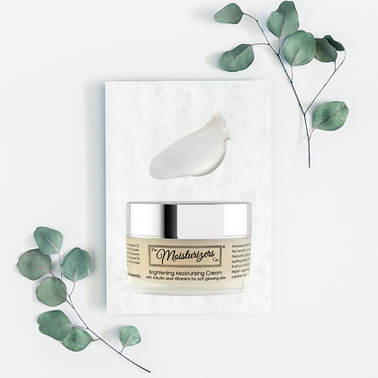 The Moisturizers Co. Brightening Moisturizing Cream with Arbutin and Vitamins