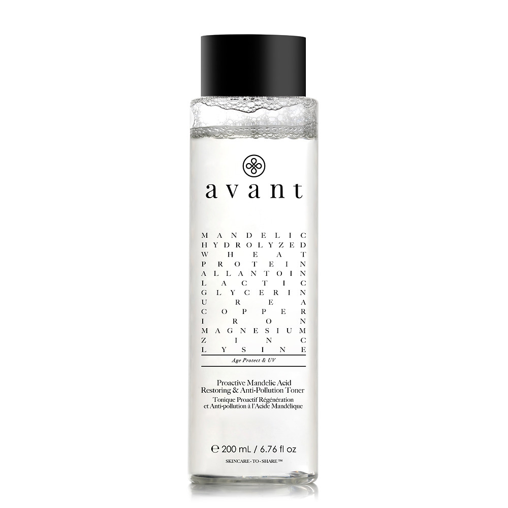 Avant Skincare Proactive Mandelic Acid Restoring & Anti-Pollution Toner. Suitable for Oily, Acne-Prone, Combination Skin. $98
