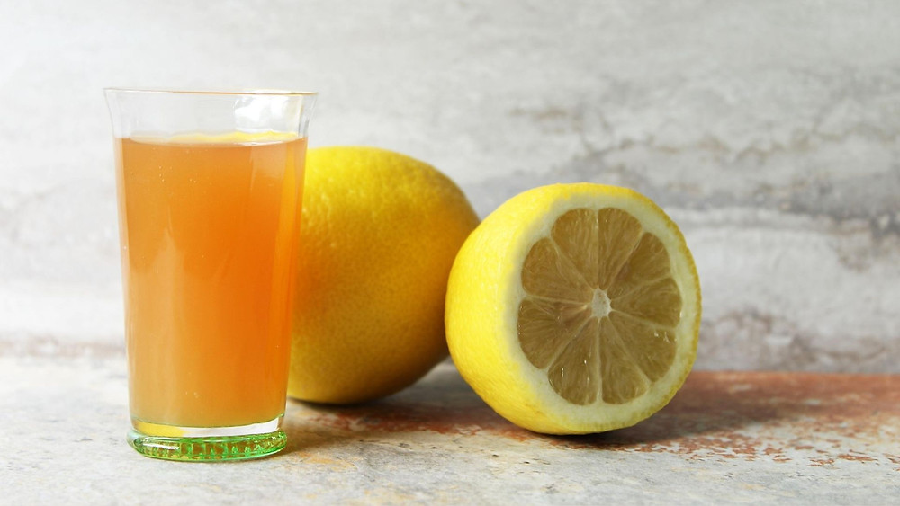 Anti-Acne Drink - Apple Cider Vinegar with Candied Lemon Rind | Skintelligence