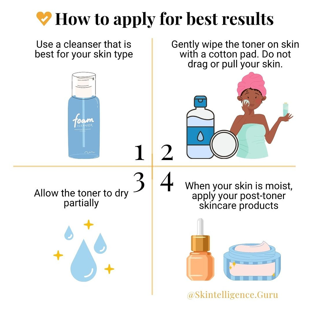 How to apply facial toner for best results | Skintelligence | Skincare routine