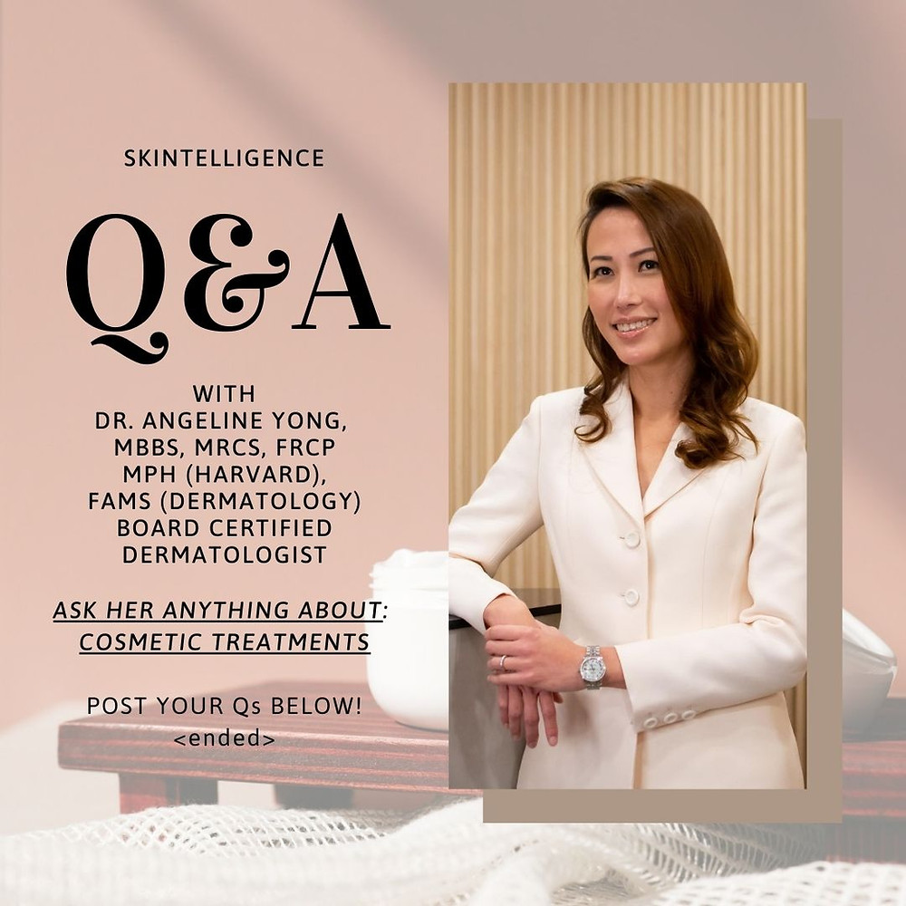 #AskADerm: Q&A with Dr. Angeline Yong on Chemical Treatments | Dermatologist in Singapore