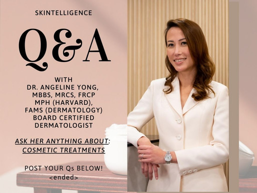 #AskADerm: Q&A with Dr. Angeline Yong on Cosmetic Treatments