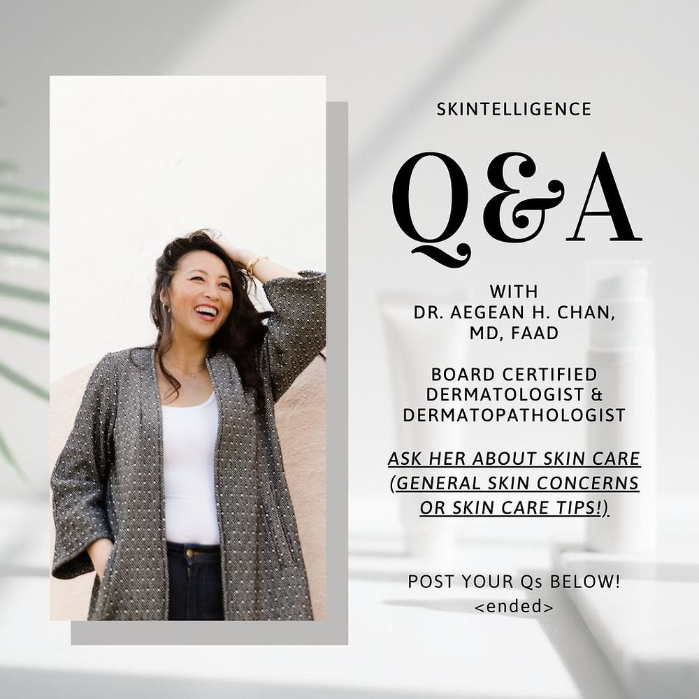 #AskADerm: Q&A with Dr. Aegean Chan on General Skin Concerns | Skintelligence