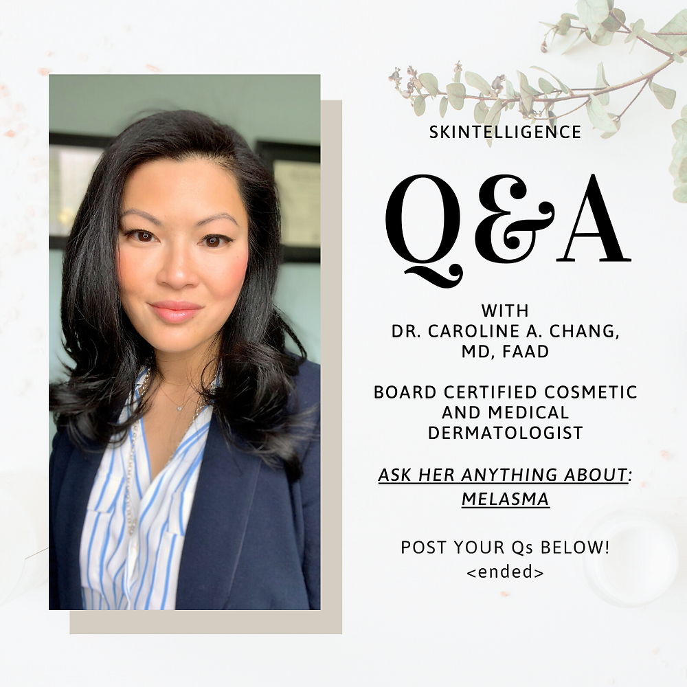 Online skin consultation with Dr. Caroline A. Chang on Melasma | Dermatologist in Rhode Island USA