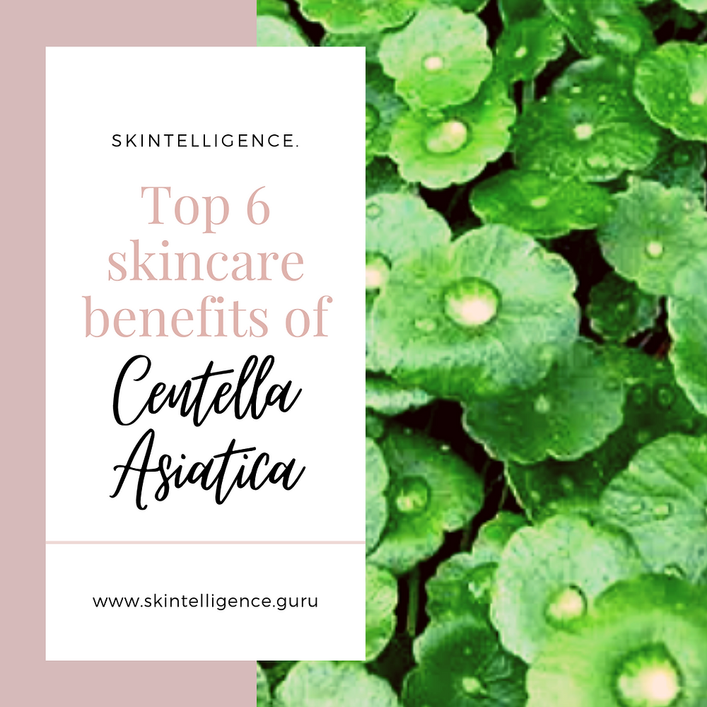 Top 6 skincare benefits of Centella Asiatica
