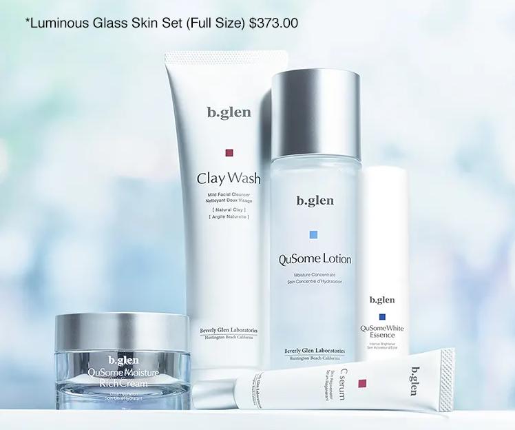 bglen Luminous Glass Skin Set (Full Size)