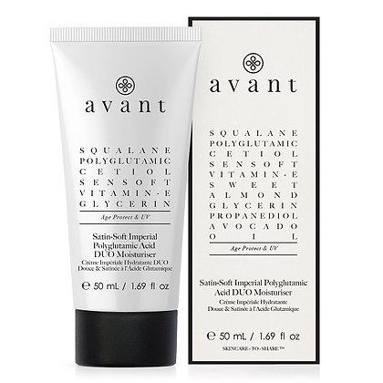 Avant Skincare Satin-Soft Imperial Polyglutamic Acid DUO Moisturiser