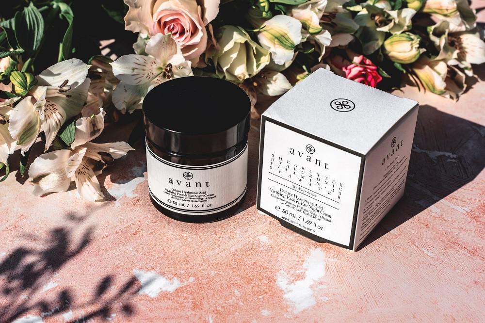 Avant Skincare Deluxe Hyaluronic Acid Vivifying Face & Eye Night Cream | Skintelligence