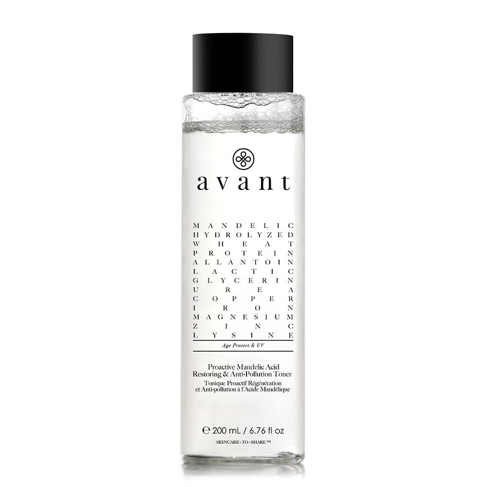 Avant Skincare's Proactive Mandelic Acid Restoring & Anti-Pollution Toner