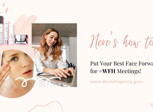 Here's how to put your best face forward for #WFH meetings