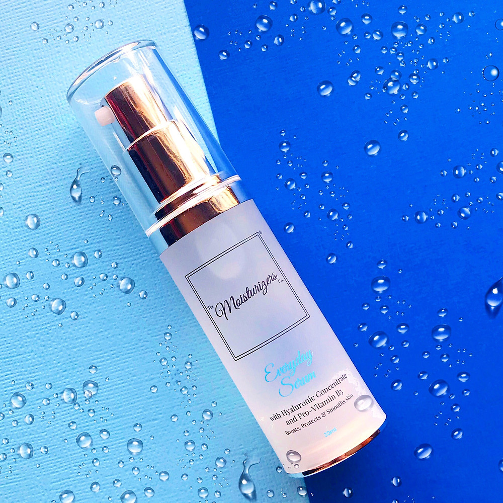 Introducing The Moisturizers Co. Everyday Serum with Hyaluronic Acid | Skincare blog