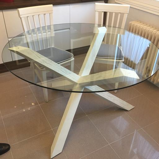 Vidrio redondo para mesa