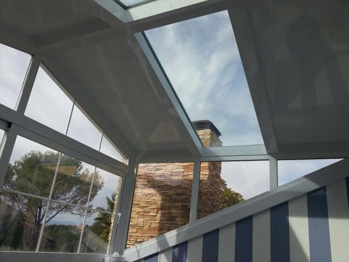 Estructura aluminio y vidrio