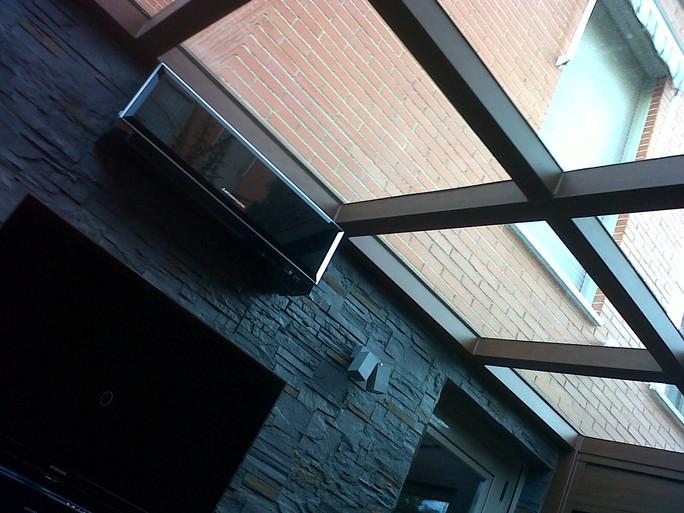techo de vidrios Sunguard