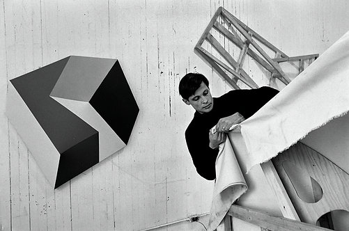 THE MINIMAL ART - Charles Hinman - 2 photos