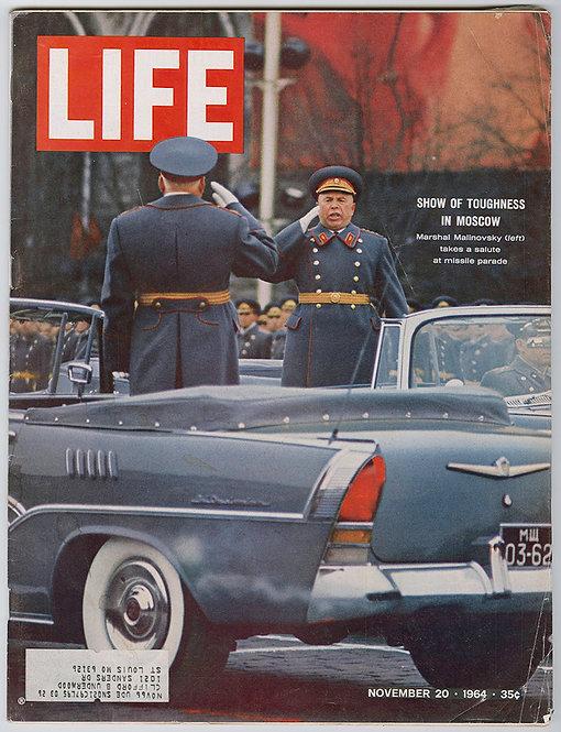LIFE MAGAZINE - Pop art / Warhol and Tinguely - 1964 /1966